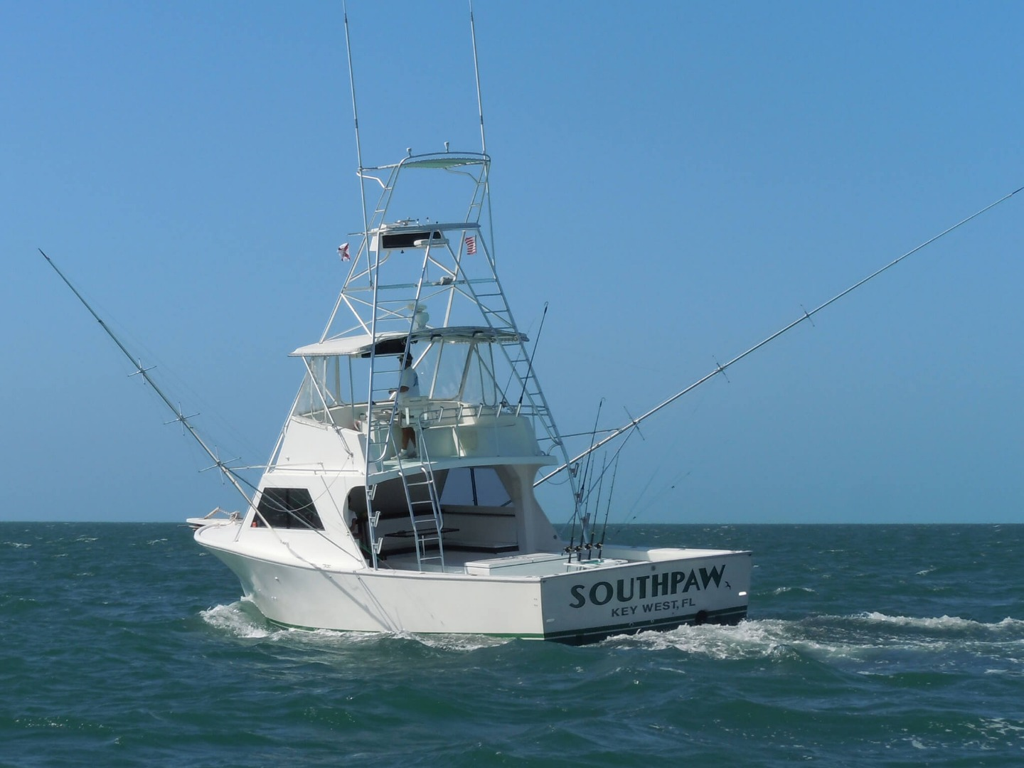 43 ft Custom Built Sportfisher